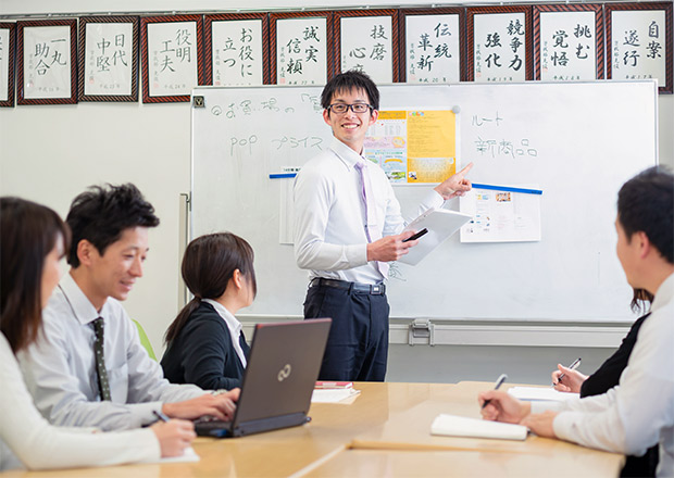 イメージ:新入社員研修